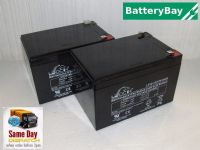 2x Leoch LP12-12 - OSET Trial Bike Batteries